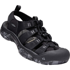 Keen Newport H2 Sandals Herren black/swirl outsole